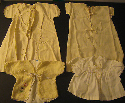 Vintage Antique Baby Clothes Girl lot Gowns tops Nathan Krauskopf JW Robinson