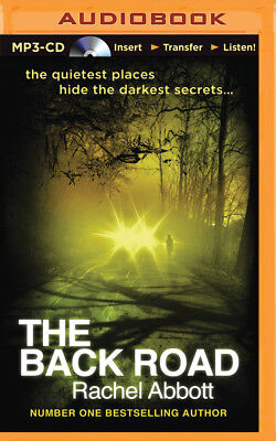 The Back Road by Rachel Abbott (2015, MP3 CD, Unabridged)