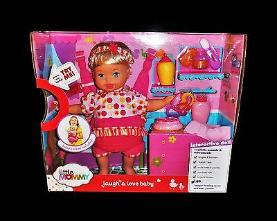 Little Mommy Laugh And Love Baby Interactive Doll Fisher Price Nib