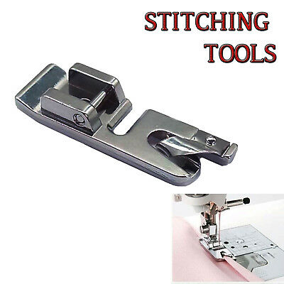 New Professional Hem Curling Presser Foot For Low Shank Domestic Sewing Machines
