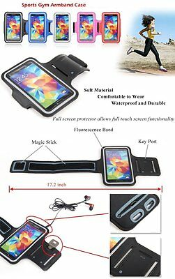 Sports Gym Armband Running Jogging Case Cover iPhone 7 PLUS SAMSUNG S8 LG V20 K7