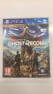 NO GAME Tom Clancy's Ghost Recon Wildlands deluxe edition carton cover box only