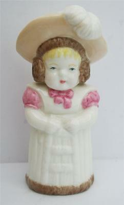 """Royal Worcester Candle Snuffer """"feathered Hat"""""""