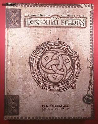D&D FORGOTTEN REALMS CAMPAIGN SETTING Dungeons & Dragons 3nd. ed. WotC d20