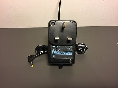 Official Sony Minidisc Power Supply Adapter Ac-E455, *** Free P&p.