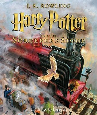 Harry Potter and the Sorcerer's Stone: The Illustrated Edition...  (ExLib)