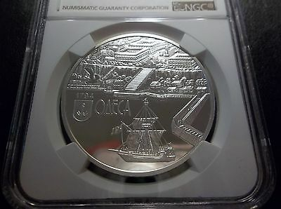 2014 Ukraine Ancient Cities Odessa NGC PF 69 Ultra Cameo Scratch Resistant Slab