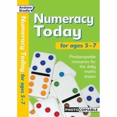 Numeracy Today for Ages 5-7: Photocopiable Resources  - School or Home Education