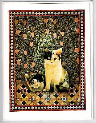 New 5 Lesley Anne Ivory Cat Danas Cats In Dana's House Blank Greeting Note Cards