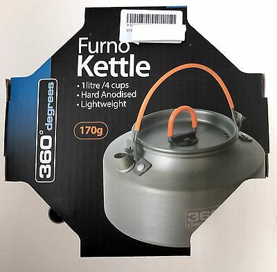 NEW FURNO KETTLE BILLY JUG 1L 170g lightweight for backpacking, hiking, trekking