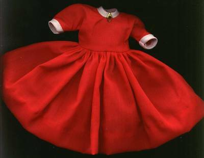 "Madame Alexander 8"" Doll Red and White Dress"