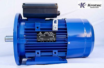 Electric motor single-phase 240v  2.2kw 3hp 1400rpm B35 Flange
