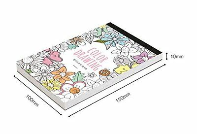 Coloring Books Color Therapy Adult Relaxation DIY New Stationery Cards Set Cute