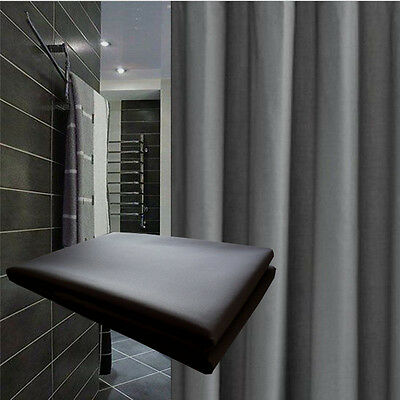 Clearance Dark Grey Shower Curtain 2.2m L New Free Shipping