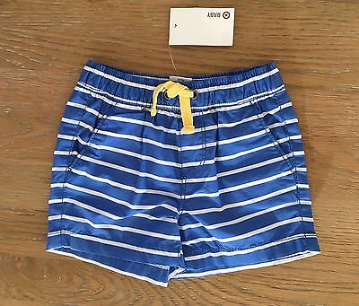 NEW TARGET Baby Boy Board Shorts Swimming Size 0 Or 6-12 Month Infants FREE POST