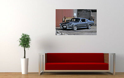 """FORD MUSTANG GT500 ELEANOR PRINT WALL POSTER PICTURE 33.1"""" x 20.7"""""""