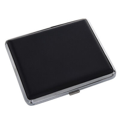 New Hot Sale Black Silver Press Button Faux Leather Metal BF