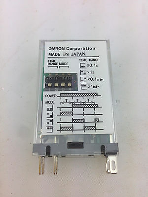 OMRON	H3RN-2	Timer 0.1s - 10min 24VAC 50/60Hz 2 x NO Contacts