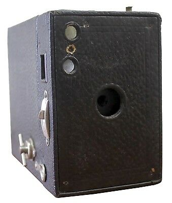 Antique Vintage Eastman Kodak No.2A Model C Box Brownie Camera c.1924 Original