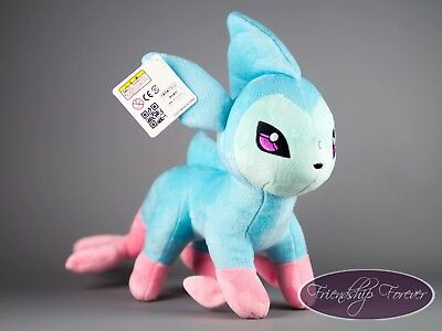 "Pokemon Alolan Vaporeon シャワーズ Showers Alola Plush Pokemon12""/30 cm UK Stock"