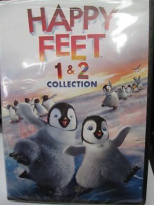 New Sealed Happy Feet 1 & 2 Collection (DVD, 2 Disc Set)