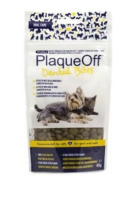 Proden Plaque Off™ ~ Dental Bites for cats & Dogs ~ 60g bag