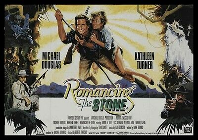 Romancing The Stone Repro Film POSTER