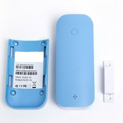 GPS Tracker with Power Bank, Magnetic Door Alarm and LED Flash Light