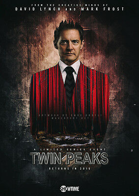 Twin Peaks 2016 Repro Film POSTER