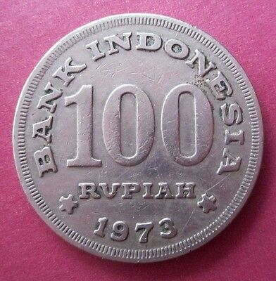 1973 Bank Indonesia 100 Rupiah Circulated Coin