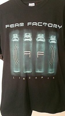 Fear Factory RARE Linchpin New With Tags Black Shirt