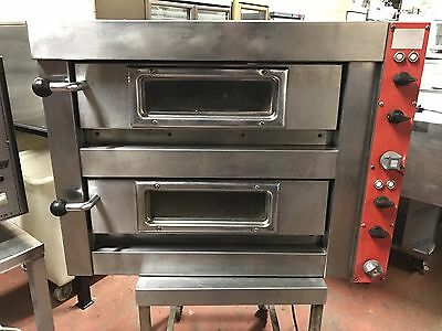 Monarch Double Deck Single Phase Electric Pizza Oven