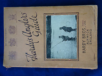 A Good Vintage Hardy Advertising Fishing Catalogue Anglers Guide For 1934