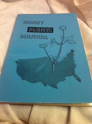 1966 Vintage Beekeeping Honey Plants Manual Flora Lovell PhD