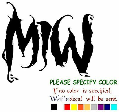 """Motionless In White Graphic Die Cut decal sticker Car Truck Boat Window/ 6"""""""