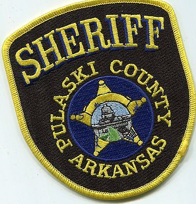 Pulaski County Arkansas Sheriff ERROR Patch