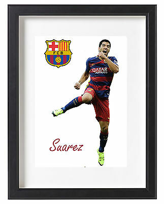 Luis Suarez A4 Poster Unique Barcelona Spain