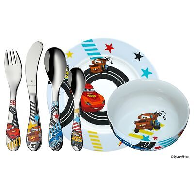 WMF Kinderbesteck Set 6-teilig Disney Cars 2