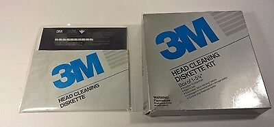 "Scotch 5-1/4"" Head Cleaning Diskette by 3M New"