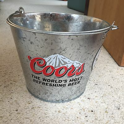 Coors Ice Bucket, Beer Bucket, Home Brew, Bar, Collectible, Man Cave