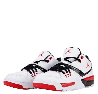 NEW! Nike Air Jordan Flight 23 GS/Youth Basketball Shoes White/Black/Red 6.5Y