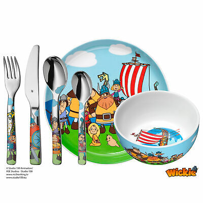 WMF Kinderbesteck-Set 6-teilig Wickie