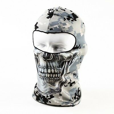 3D Motorcycle /Sports /Outdoor Skull Cap Helmet Balaclava Headgear