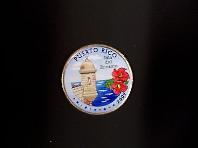 60-2009 Colorized Puerto Rico State Quarters