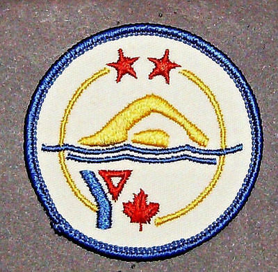 Vintage YMCA/YWCA Swimming Patch - Two Star