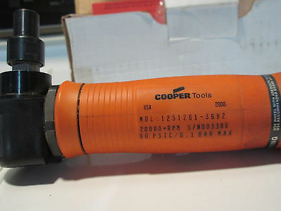 Dotco/Cooper Air/Pneumatic  rght angle grinder MDL-12S1201-36B2