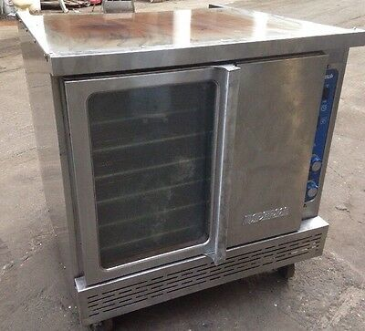 Stainless Steel Commercial Nat Gas Convection Oven Imperial Model ICV-1. Our #2