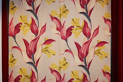 SINGLE 1950s CURTAIN.AS IS.