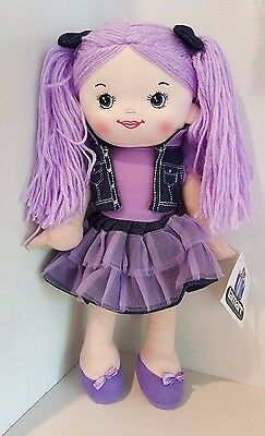 Brand New**assorted Colours**girls Rag Dolls