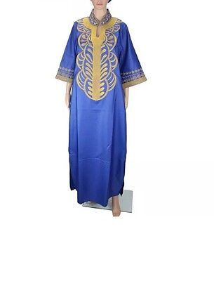 african bazin embroidery dresses  without  scarf soft material size 4XL